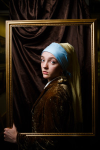 girl pearl earring costume