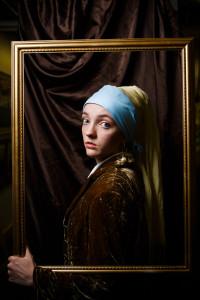 girl pearl earring costume